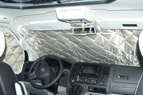 VW-T5 / T6 Isoflex windscreen thermal insulation